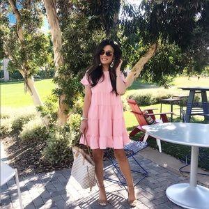 Dresses & Skirts - Pink Tiered Dress